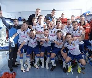 Fútbol. El Deportivo Aragón clasificado.