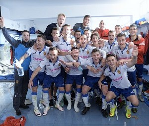 Fútbol. El Deportivo Aragónclasificado.