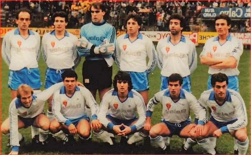 LA COPA DEL REY GANADA EN 1986 CONTRA ELBARCELONA.